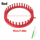 1pc Hat Knifty Knitter Knit Knitting Loom Round Circle Weave Tool Abs Plastic