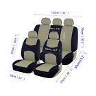 Car Seat Covers Set Front Back Rear Headrests Protector For Car Truck Suv Van