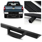 39 Long3 Tube Black Rear Bumper Hitch Step For Trucksuvpickup 2 Receiver