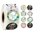 500roll Handmade Diy Thank You Stickers Wedding Birthday Party Flowers Labels