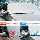 Windshield Snow Cover Extra Large 4-layer Thick Fits Any Car Truck Suv Van
