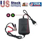 Durable 12v Car Battery Maintainer Charger Tender Auto Trickle Motorcycle Boat