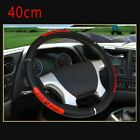 Double Stitched Steering Wheel Cover Large Trailer Suv Trim 40424550cm