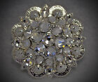 Crystal Berry Concho Handcrafted With Clear Crystal Swarovski Elements
