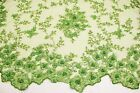 Special Design Hand Made Heavy Beaded Embroidery Lace Fabric Bridal Lace