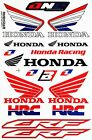 Honda Wing Logo Vinyl Sticker Sheet Gas Tank Emblem Badge Motorcycle Car Decal