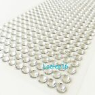 504 Pcs 6mm Self Adhesive Rhinestone Crystal Bling Stickers Round Pearls Iphone