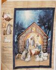 Christmas Blessed Birth Nativity Fabric Sold Separately By Springs Creative Bty