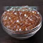 6810mm Glass Czech Style Cube Square Crystal Faceted Loose Spacer Beads