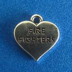 Fire Dept Charm Firetruck Pendant Fireman Charm Fire Fighter Emergency Charm