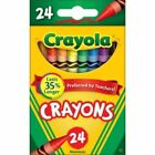 Crayola Classic Color Crayons Assorted 24pack Cl52-3024 Nontoxic New