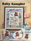 Crossstitch Pattern Bookletsbirthbaby Samplers Choice Of 3 Booklets