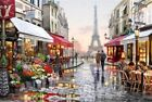 New Paint By Numbers Kits - Digital Oil Painting Canvas Christmas Home Wall Art