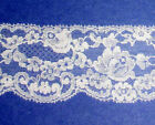 Vintage Lace Trim Lots 38-7 Wide White Ivory Cream Navy Pink Lilac Venise 82x