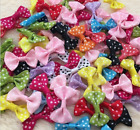 Bow Tie Hipgirl Ribbon Applique Embellishment For Crafts