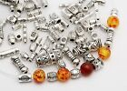 Mixed Tibetan Silver Metal Spacer Beads Charm For Bracelet Jewelry Making 45g Us