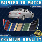 New Painted To Match Rr Bumper Direct Fit For 2011-2013 Toyota Corolla Sedan 4dr