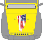 Distressed Usa Flag 3m Vinyl Decal Sticker Hood Body Jeep Wrangler Fits Any