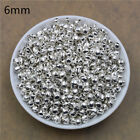 Wholesale 100x Sliver Jingle Bell Dangle Charms Pendant Jewelry Making Diy 68mm