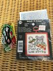 Cross Stitch Christmas Ornament Kits Opened Contents As Listed