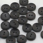 Mixed Wood Shape Handmade 24 Holes Wooden Buttons Sewing Scrapbooking Diy Lots