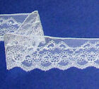 Assorted Vintage Lace Trim 38 - 5 Wide Closeout Ivory Cream White Pink 80x