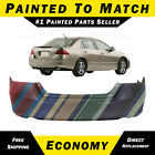 New Painted To Match - Rear Bumper Cover Exact Fit For 2006 2007 Honda Accord