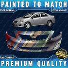 New Painted To Match - Front Bumper Cover Fascia For 2009 2010 Toyota Corolla