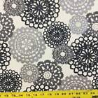 Rare Jewels In Silver Black By Waverly Upholstery Drapery Fabric By The Yard