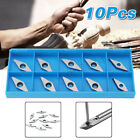 10pcs Carbide Inserts Blade For Chisel Milling Lathe Wood Turning Tool R Arbor