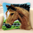 Latch Hook Kits Animals Cushion Cover Pillowcase Craft Needle Embroidery Gifts