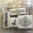 Stampin Up Wood Mounted Sets You Choose Free Shipping Holidays Nature Sports