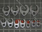 Snap On Tools Sae Flare Nut Crowfoot 11pc Set 38 34 1 Crows Crow Foot 6pt