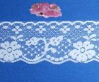 White Vintage Lace Trim 11 - 45 Yd X 2-18 Scallop S21v Buy 3 Trims Get 1-free