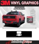 Chevy Colorado Decals Grand Tailgate Blackout 3m Accent Vinyl Graphics Stripes