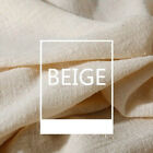 Soft Linen Cotton Fabric Organic Material Pure Natural Flax Cambric Diy Clothes