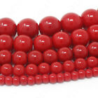 Czech Opaque Glass Beads Round Pearl Coated 4mm 6mm 8mm 10mm 12mm 16 Strand