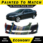 New Painted To Match - Front Bumper Cover For 2003-2005 Mazda 6 Sport W Spoiler