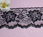 Black Lace Trim 10 - 20 Yd X 3 Scallop Floral M101jv Buy Any 3 Trims Get 1-free