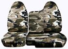 Front Set Car Seat Covers Fits Ford Ranger 1998-2003 6040 Bench