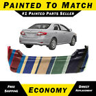 New Painted To Match - Rear Bumper Replacement For 2011-2013 Toyota Corolla 4dr