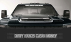 Dirty Hands Clean Money Decal Windshield Banner Sticker Fits Car Truck Suv Jeep