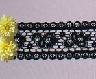 Black Lace Trim 10 - 20 Yards X 1-58 Floral O63iv Buy Any 3 Trims Get 1-free