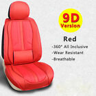 Deluxe 5-seat Car Seat Cover Universal Suv Frontrear Pu Leather Car Accessories