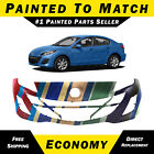 New Painted To Match - Front Bumper Cover Replacement For 2010 2011 Mazda 3 2.0l