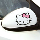 Hello Kitty Wink Cute Paperclip Cover Scratches Reflective Car Stickers 1 Pair
