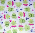 Cotton Flannel Dinosaurs Sheep Pigs Frogs Pandas Bunny Mommy Elephants Fq Hy Bty