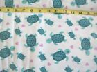 289 New Flannel Fabric Bty 2 Yards Pick Size Turtle Mom Baby Heart