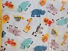 480 New Flannel Fabric Bty 31 Select Size Visit Zoo Lion Turtle Rino