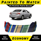 New Painted To Match Rear Bumper Replacement For 2011-2013 Toyota Corolla Sedan